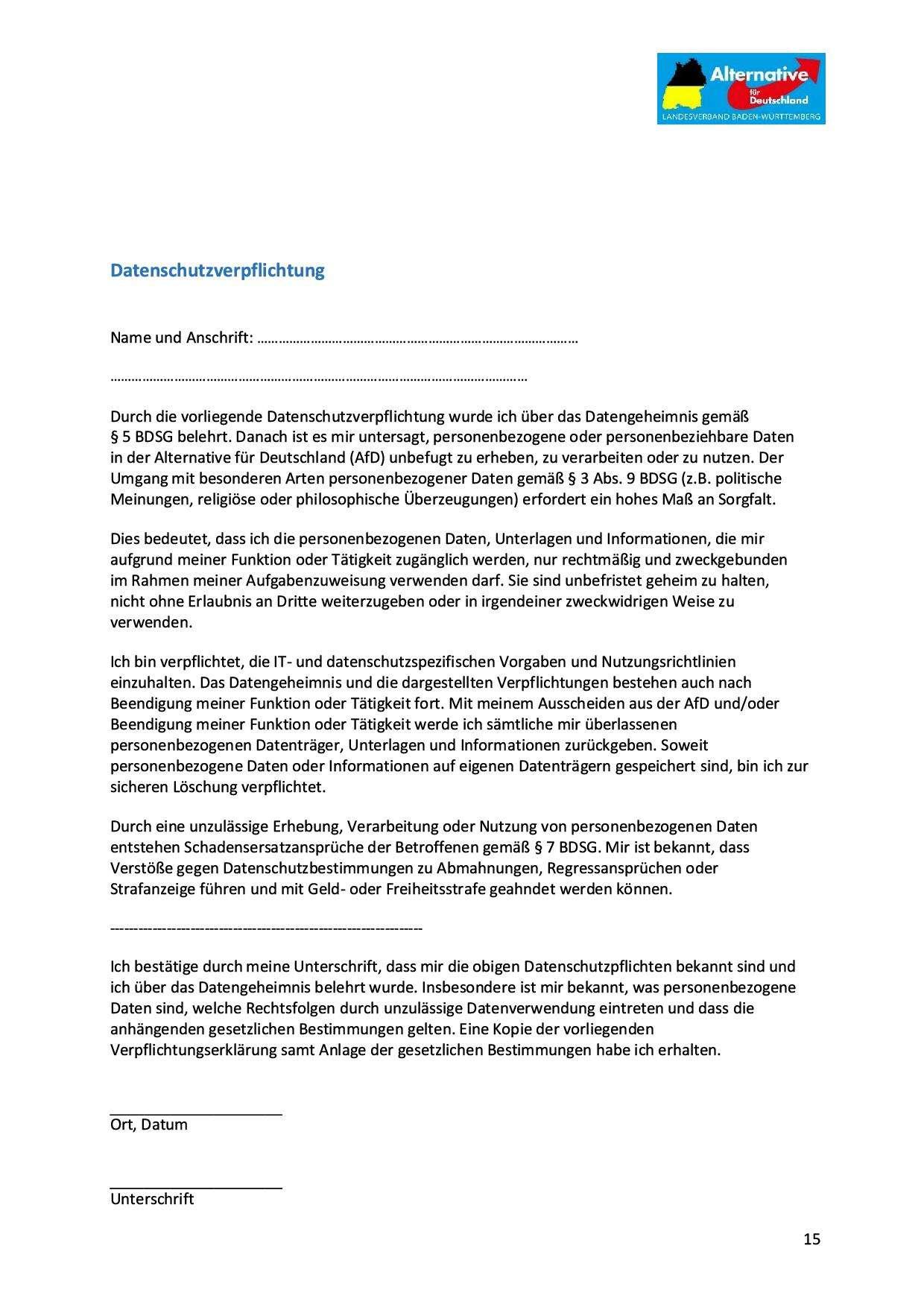 Datenschutzverpflichtung Version 1.81