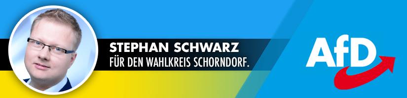 Stephan Schwarz: Menschen mit Behinderung nicht ausgrenzen!
